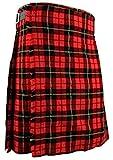 Schottischer Kilt, klassischer Rock Kleid Highland - Wallace, W34