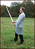Kettenhemd, langarm, 9mm ID, verzinkt, Gr. XL von Battle-Merchant...