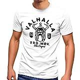 Neverless Herren T-Shirt Valhalla Odin Runen Wikinger Fashion...