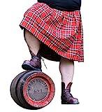 Spaß kostet Männer und Herren Schottenrock Kilt rot schwarz...