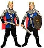 Magicoo königliches Ritterkostüm Kinder Jungen Mittelalter Gr....
