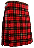 Schottischer Kilt, klassischer Rock Kleid Highland - Wallace, W42