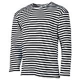 MFH Russisches Marine T-Shirt Langarm Winter (Blau-Weiß/XXL)