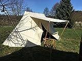 Zelte-Max Mittelalterliches Saxon - Tent Doppelglockenzelt...