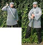 Aus Omas Truhe Kettenhemd L verzinkt,lang, 12,5 x 1,5 mm Ringe