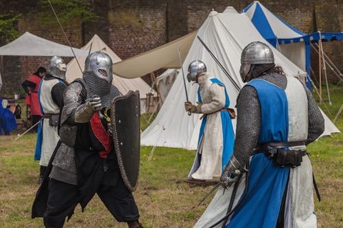 Mittelalter LARP Waffen